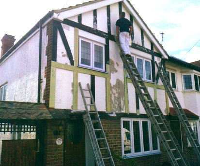 Exterior painting and refurbishment